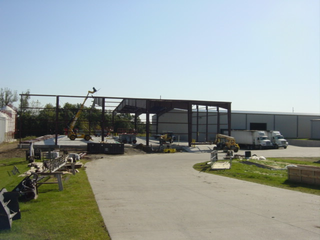 Powder Coating Facility Construction