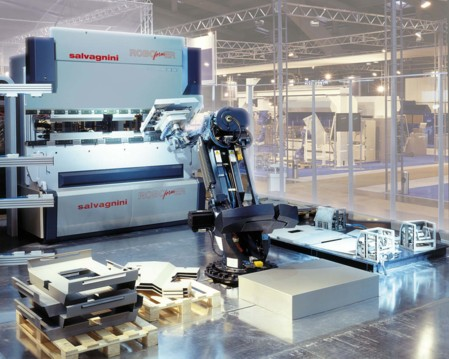 Robotic press brake